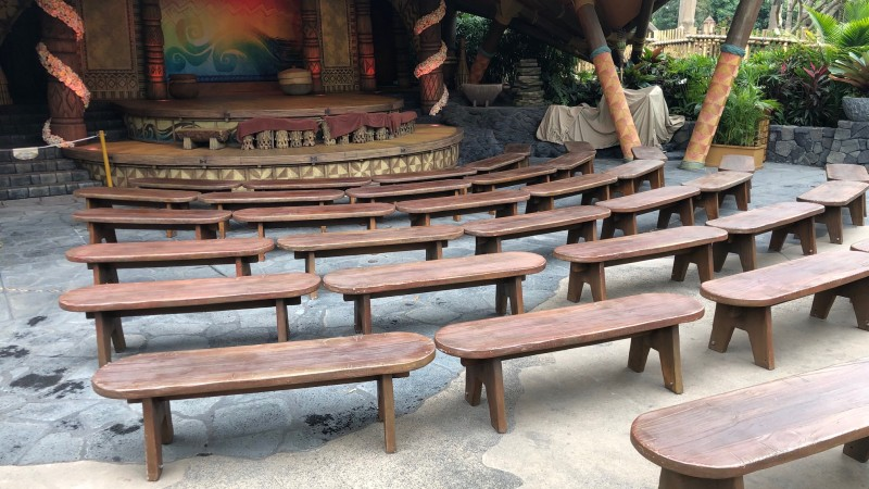 'Moana' Disneyland Hong Kong - Environmental Street Furniture