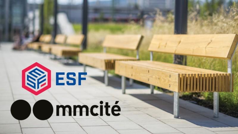 ESF's longstanding partnership with mmcité - Environmental Street Furniture