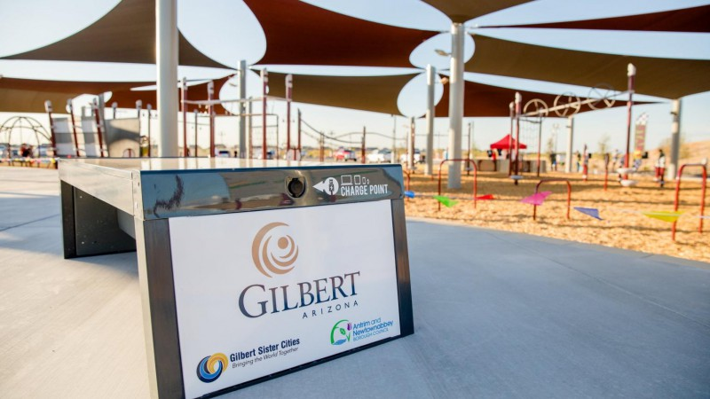 Gilbert Recreational Parks, Arizona USA - Environmental Street Furniture